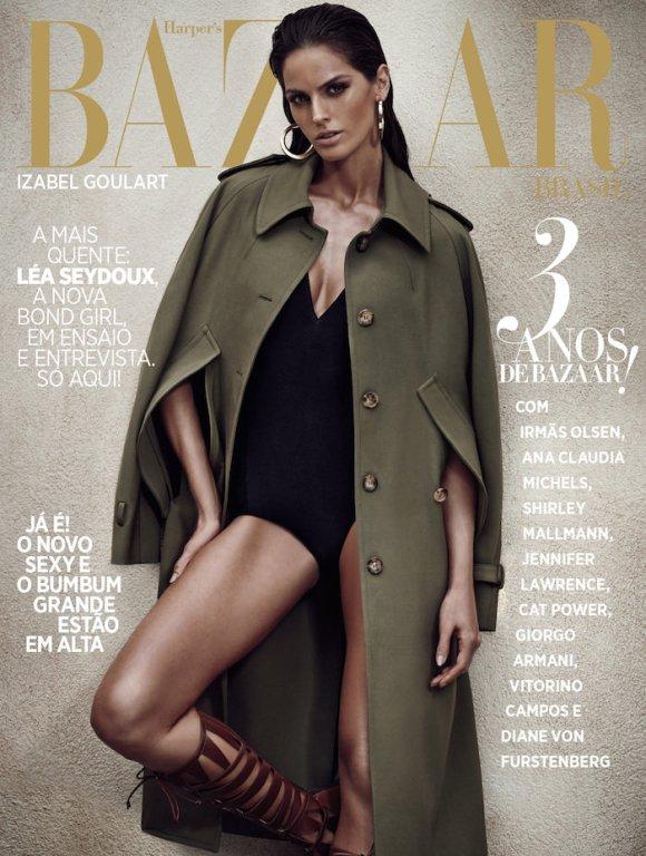 Izabel Goulart by Nicole Heininger for Harper's Bazaar Brasil