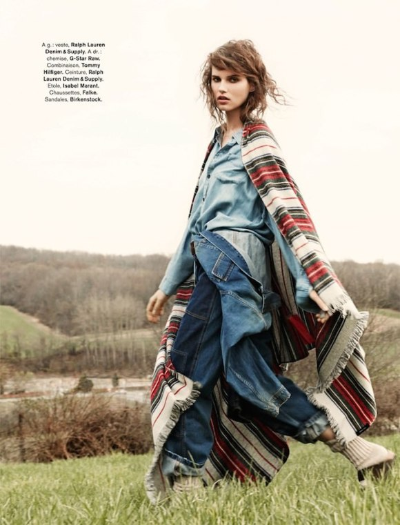Giedre Dukauskaite By Hilary Walsh For Glamour France