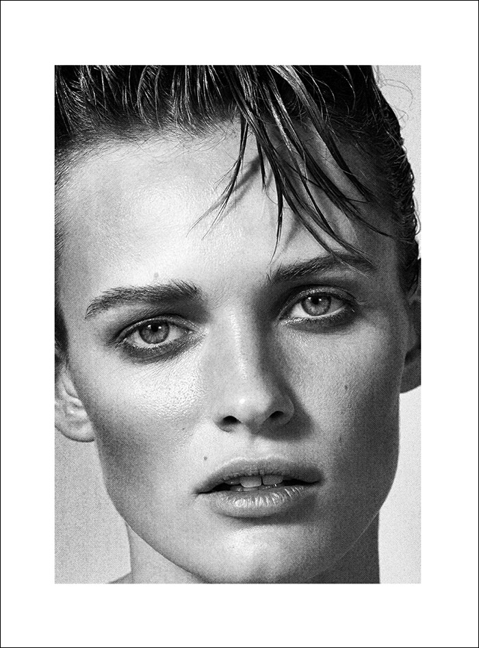 Edita Vilkeviciute photographed by Collier Schorr for 032c #27, Winter 2014 & 2015