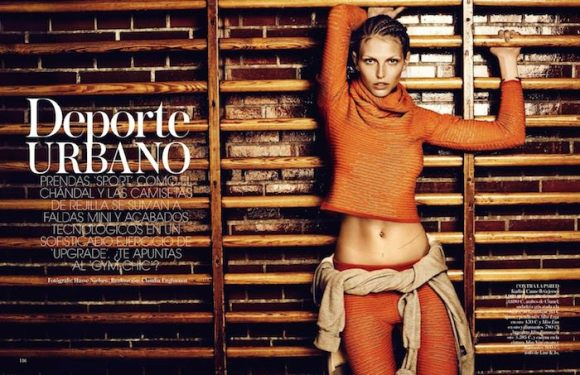 Karlina Caune By Hasse Nielsen For Vogue Spain January 2015