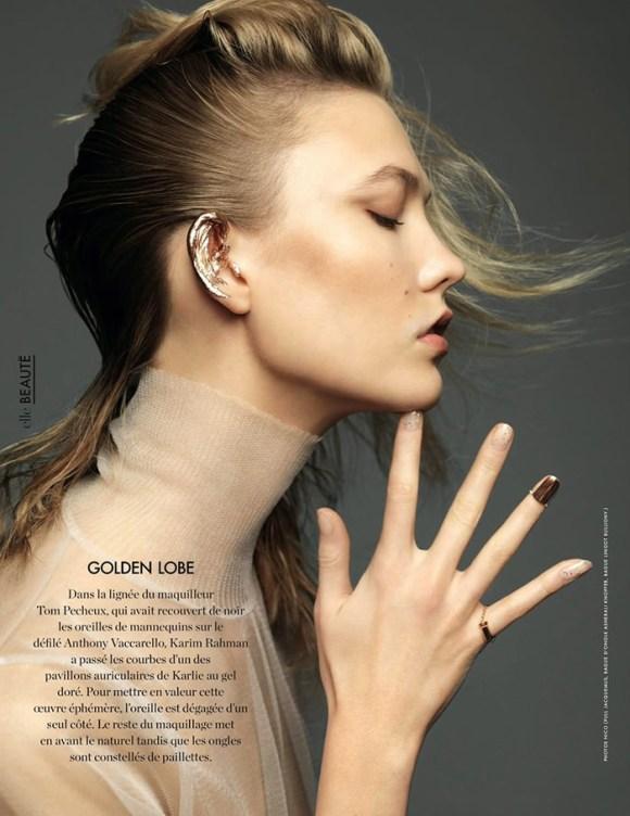 Karlie Kloss by Nico for Elle France