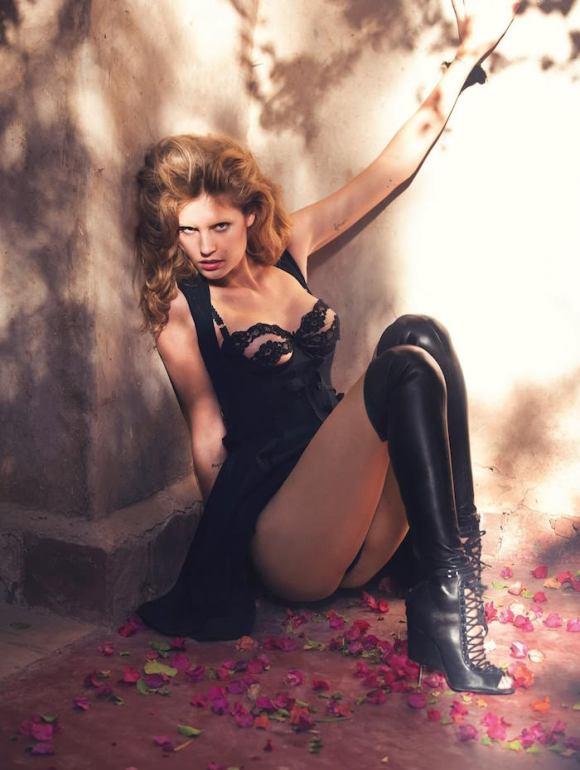 Nadja Bender by David Bellemere for Vogue Spain