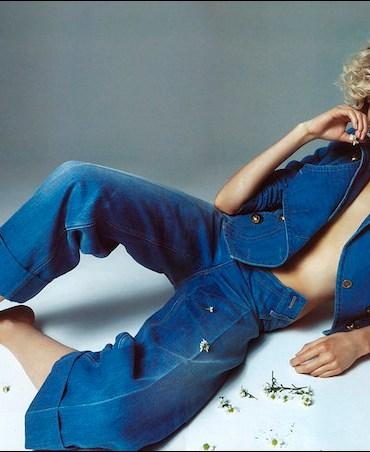 Alisa Ahmann by Camilla Akrans for Vogue Japan