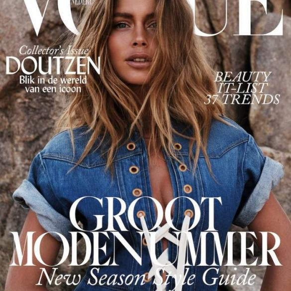 Doutzen Kroes covers Vogue Netherlands