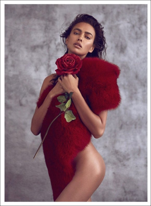 Irina Shayk by Koray Birand for Harper's Bazaar China