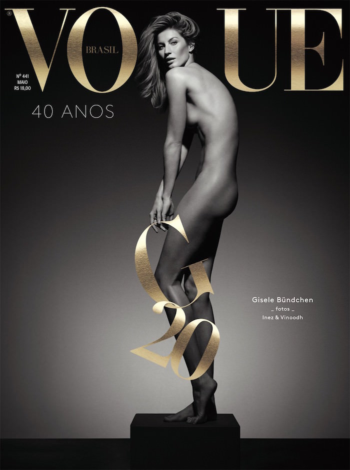Gisele Bündchen covers Vogue Brasil