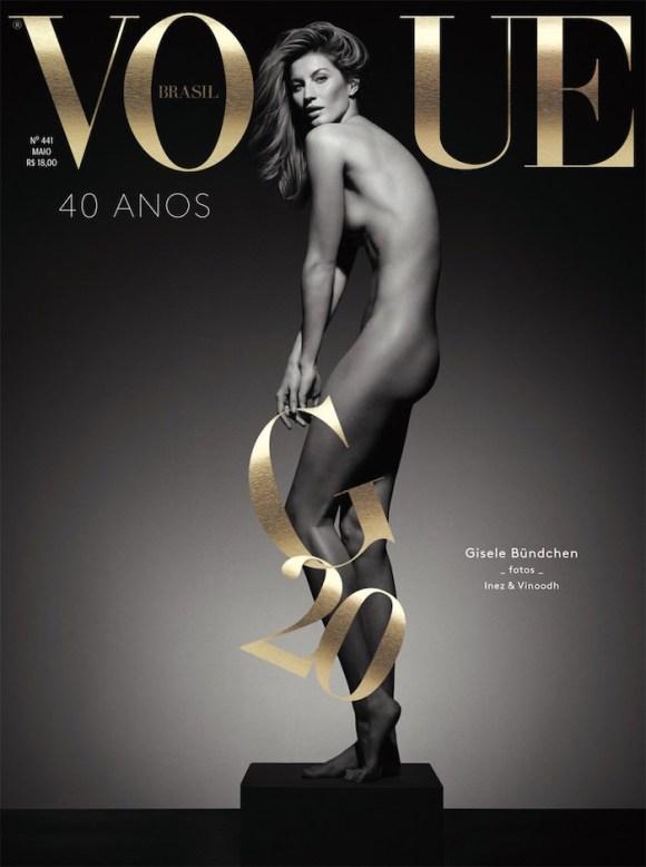 Gisele Bundchen covers Vogue Brasil