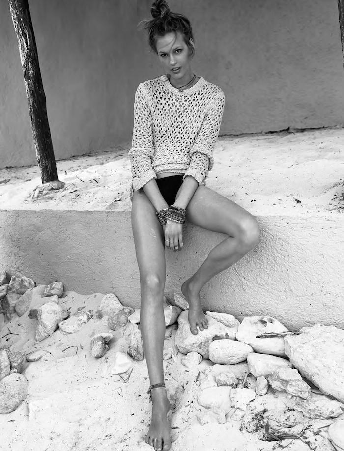 Elisabeth Erm by Sam Hendel for Glamour France