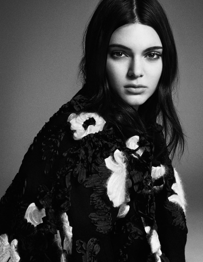 Kendall Jenner photographed by Iango Henzi & Luigi Murenu for Vogue Japan, November 2015