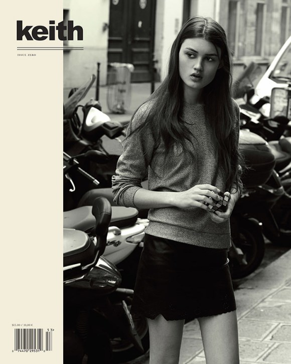 Danique Davis covers Keith Magazine
