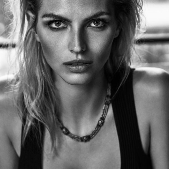 Karlina Caune by Tomas De La Fuente for Telva