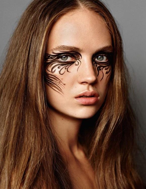 Adrienne Juliger by Alasdair McLellan for Vogue Paris