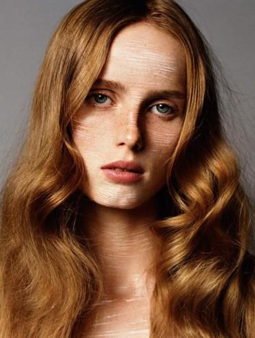Rianne van Rompaey by Alasdair McLellan for Vogue Paris