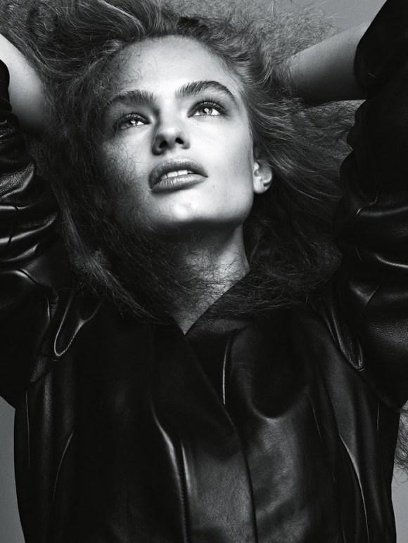 Anna Mila Guyenz and Luna Bijl by Lachlan Bailey for Vogue Australia