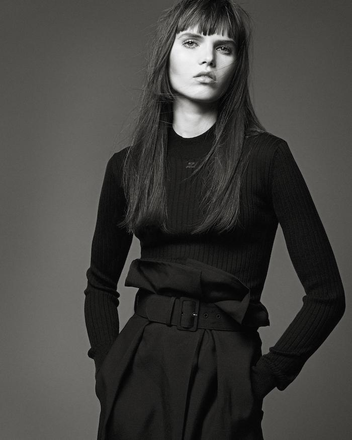 Lily Stewart by Luca Khouri for W Magazine
