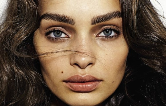 Luma Grothe by David Oldham for Grazia France