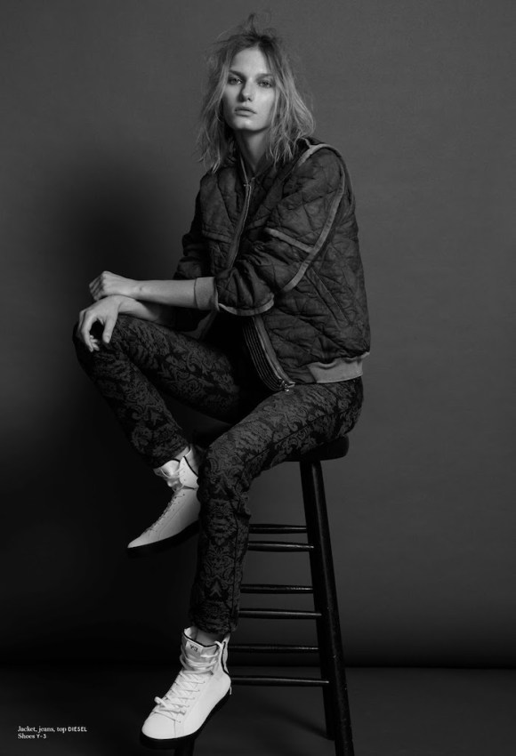 Marique Schimmel by Tim Zaragoza for Notofu Magazine