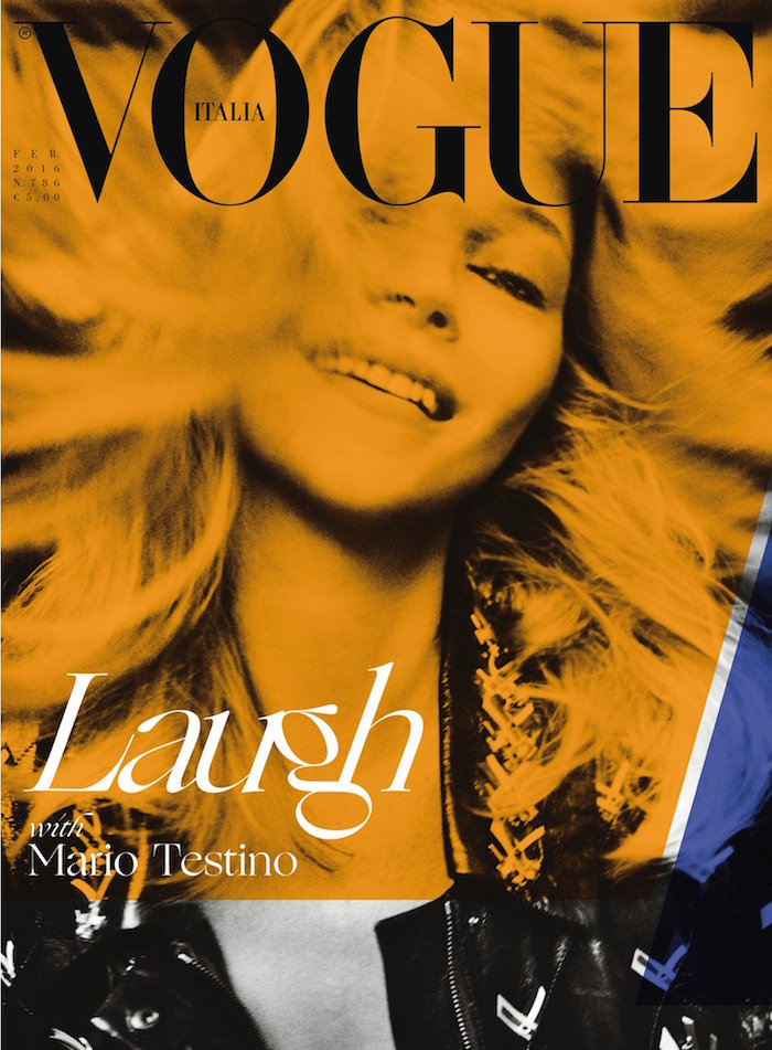 Kate Moss covers Vogue Italy