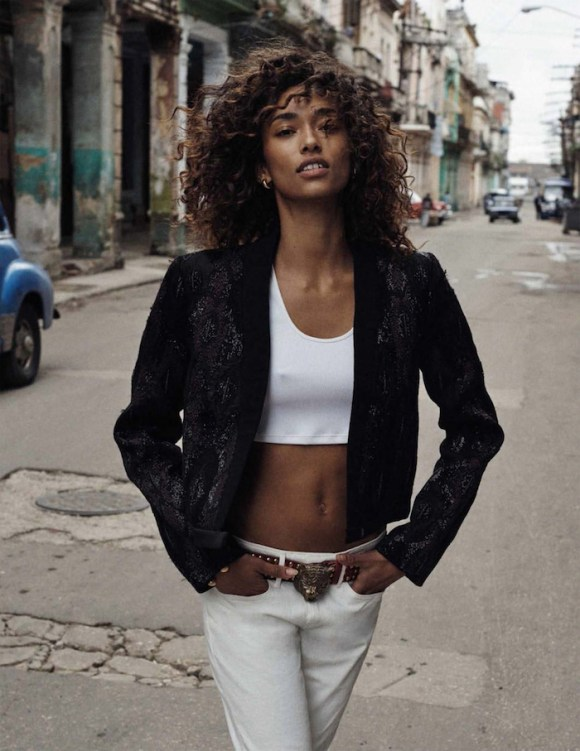 Anais Mali by Benny Horne for Vogue Spain