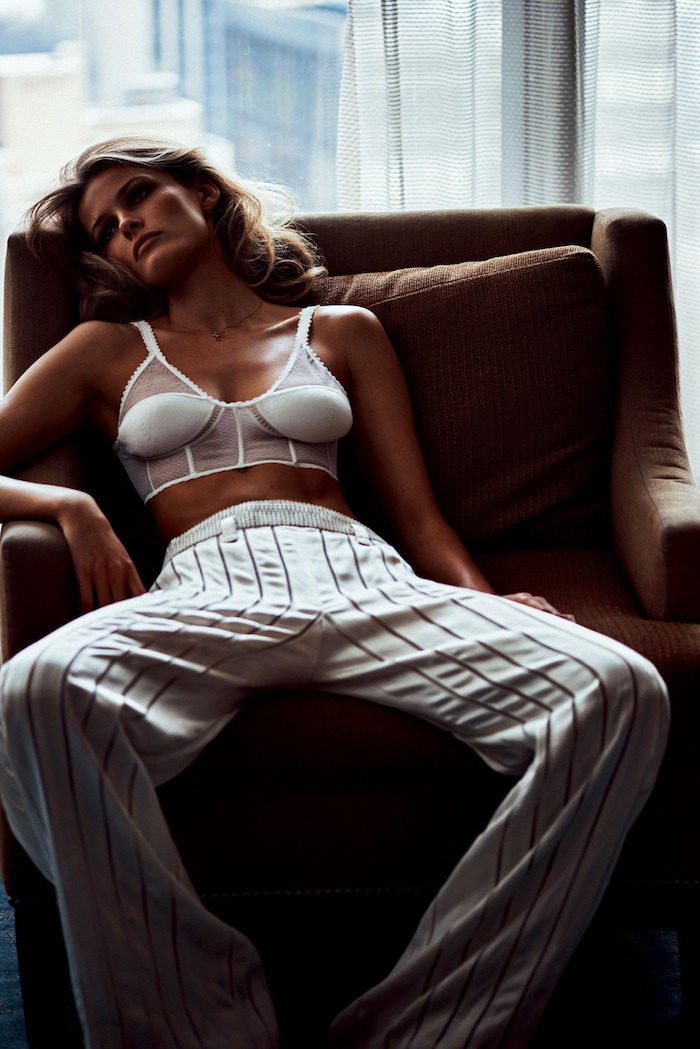 Edita Vilkeviciute photographed by Lachlan Bailey for Vogue Japan, July 2016