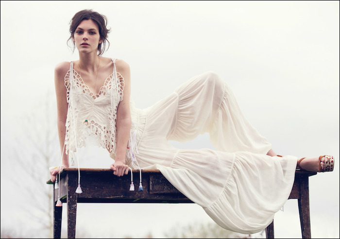 Vittoria Ceretti by David Bellemere for Vogue China