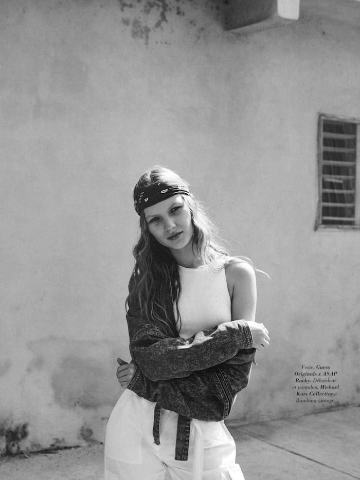 Anabel Krasnotsvetova by David Cohen De Lara for Glamour France