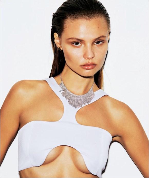 Magdalena Frackowiak by Alvaro Beamud Cortes for S Moda