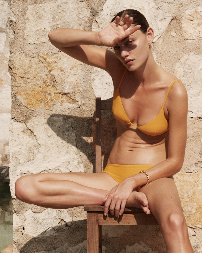 Phoebe Tonkin by Alexandra Nataf for Matteau Swim Resort
