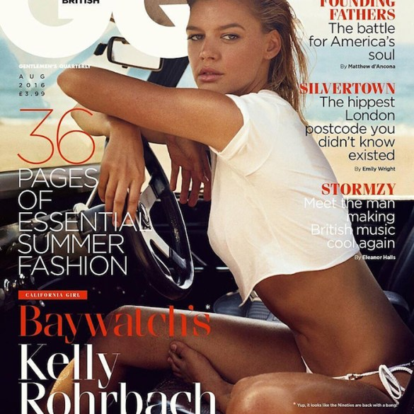 Kelly Rohrbach by Norman Jean Roy for GQ UK
