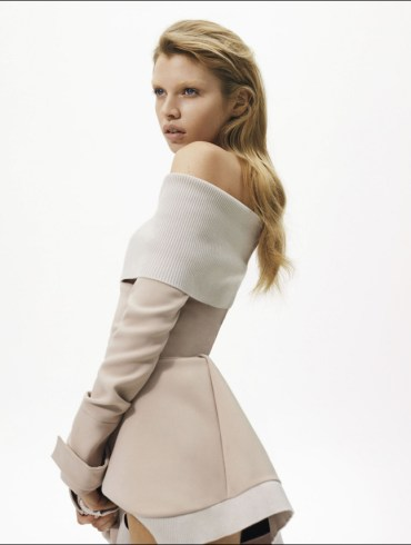 Stella Maxwell by Richard Bush for Harper's Bazaar