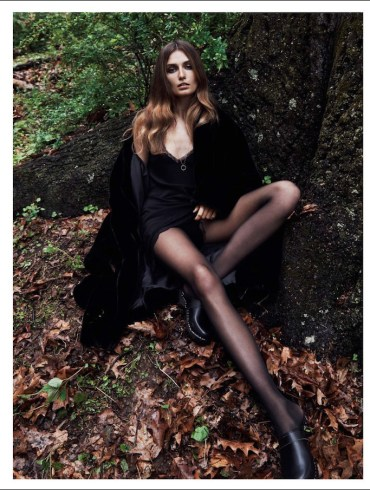 Andreea Diaconu by Lachlan Bailey for Vogue Paris