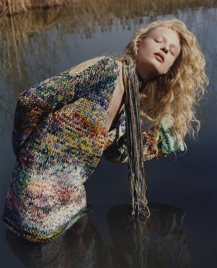 Frederikke Sofie by Harley Weir for Missoni