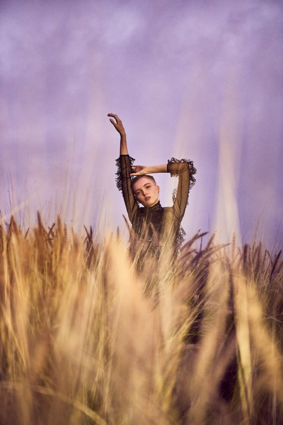 Ruth Bell by Ryan McGinley for Vogue China