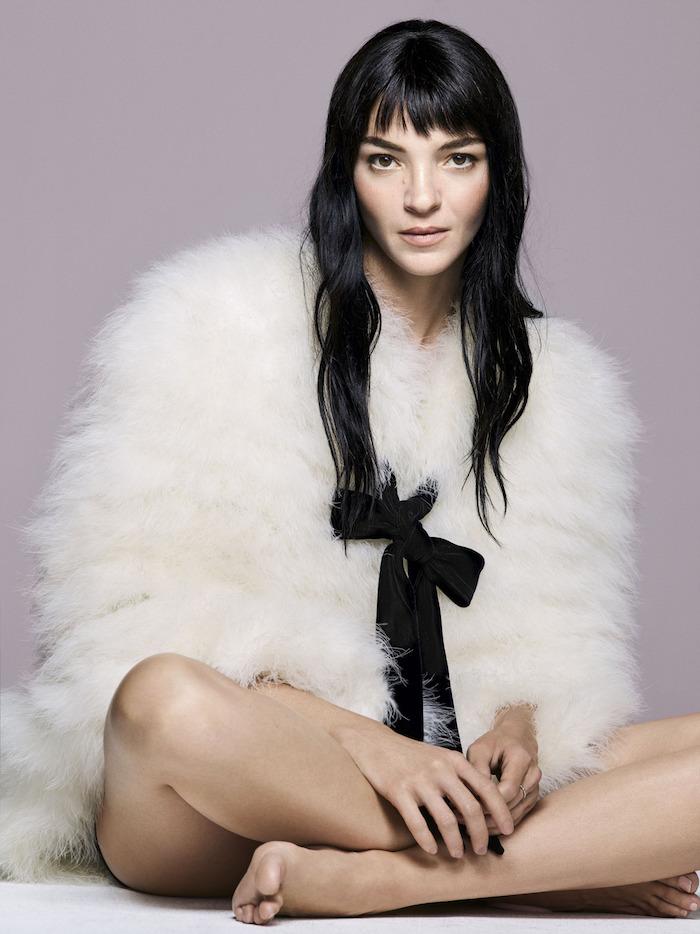 Mariacarla Boscono by Nico Bustos for Harper's Bazaar UK