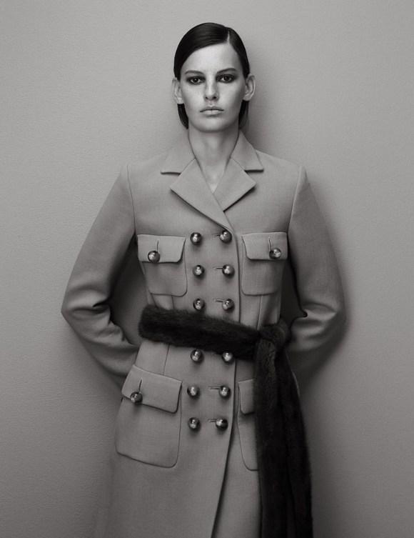 Amanda Murphy by Hong Jang Hyun for Harper's Bazaar Korea