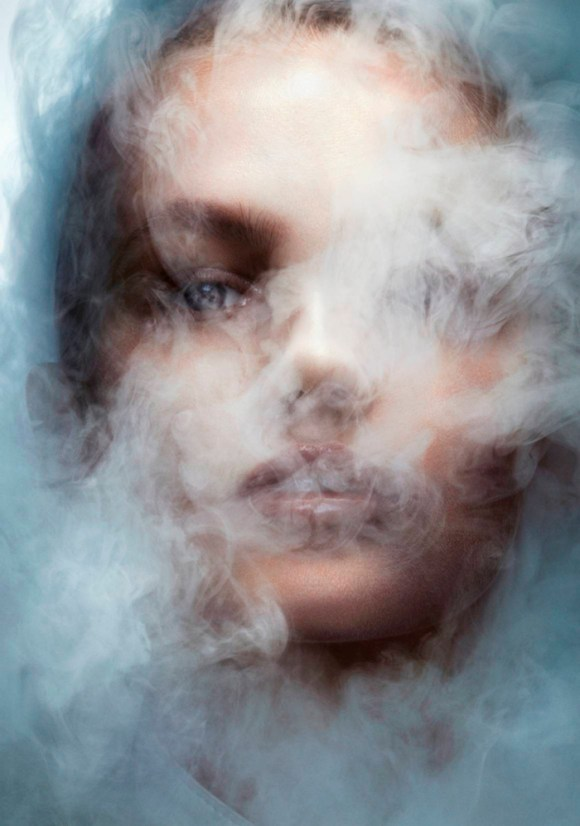 Aneta Pajak by Ben Hassett for Vogue Paris