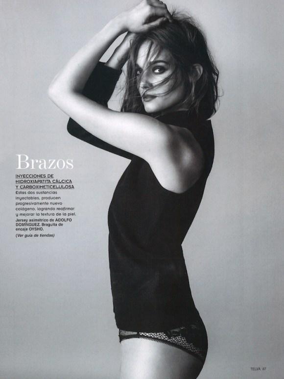 Johanna Szikszai by Antonio Terron for Telva Belleza