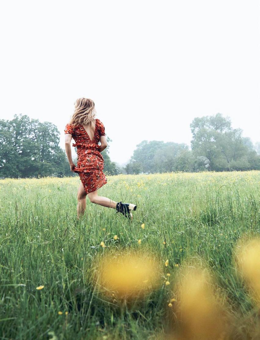 Haley Bennett by Lachlan Bailey for Dior Magazine