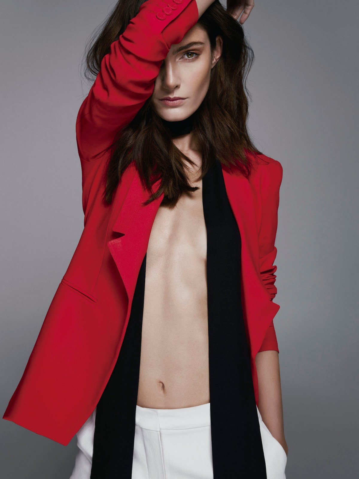 Mariana Coldebella by Pedro Quintana for Harper's Bazaar Chile