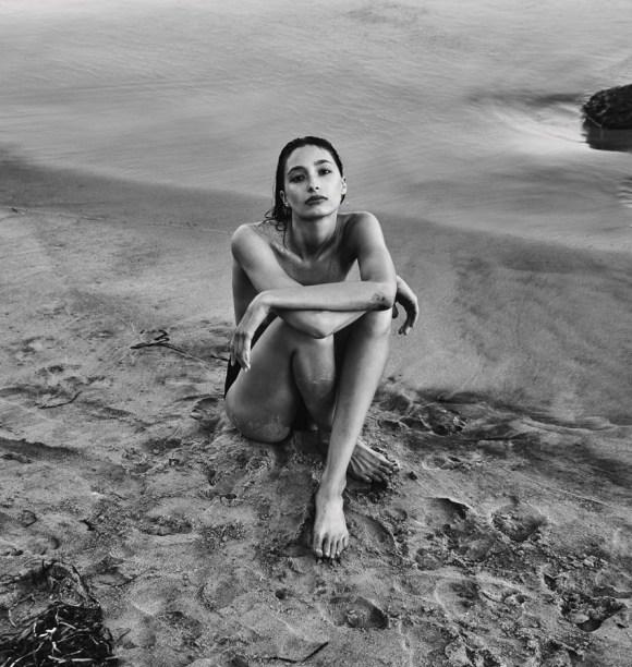 Alexandra Agoston by Chris Colls for Porter Magazine