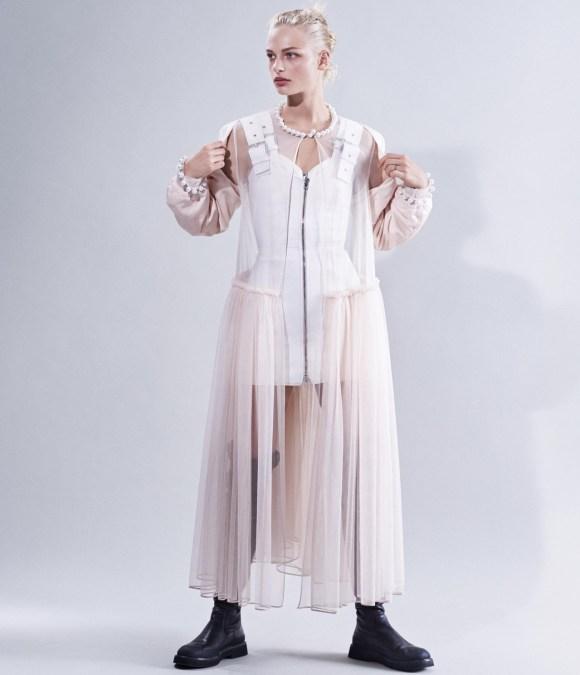 Frederikke Sofie by Josh Olins for WSJ Magazine
