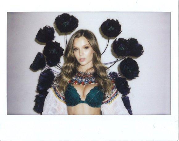 Josephine Skriver at Victoria's Secret Fashion Show