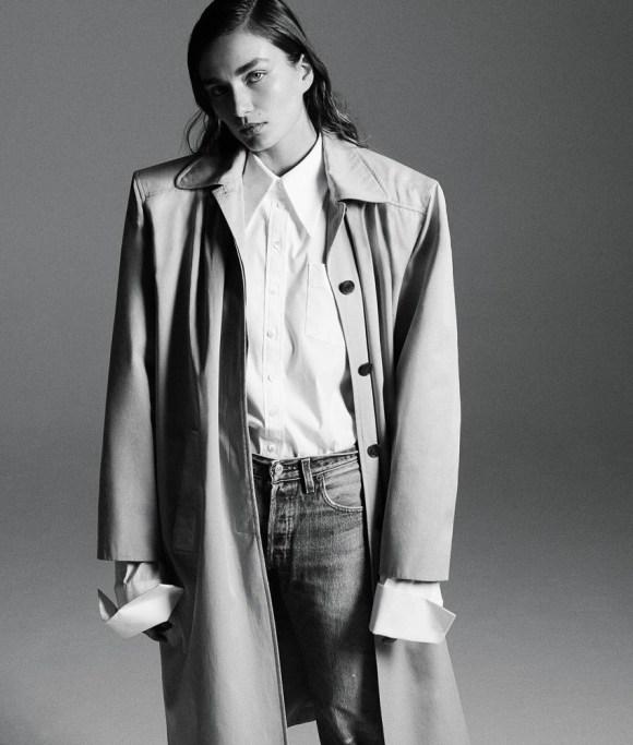 Andreea Diaconu by Daniel Jackson for WSJ Magazine