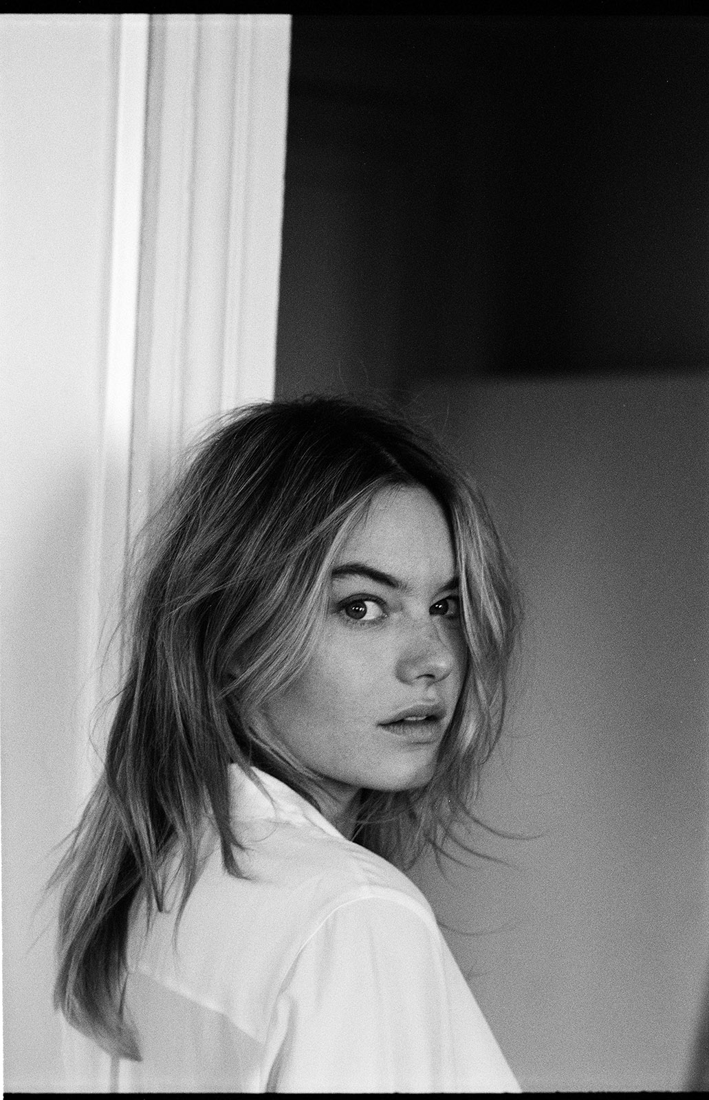 Camille Rowe by Quentin de Briey
