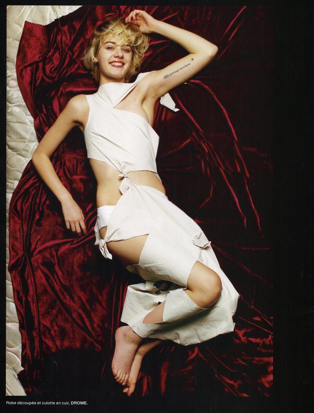 Celine Bouly by Amanda Charchian for Numero
