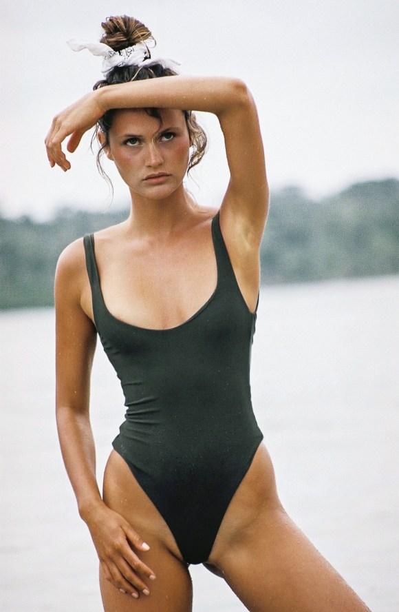 Chloe Lecareux by Brydie Mack for Bamba Swim