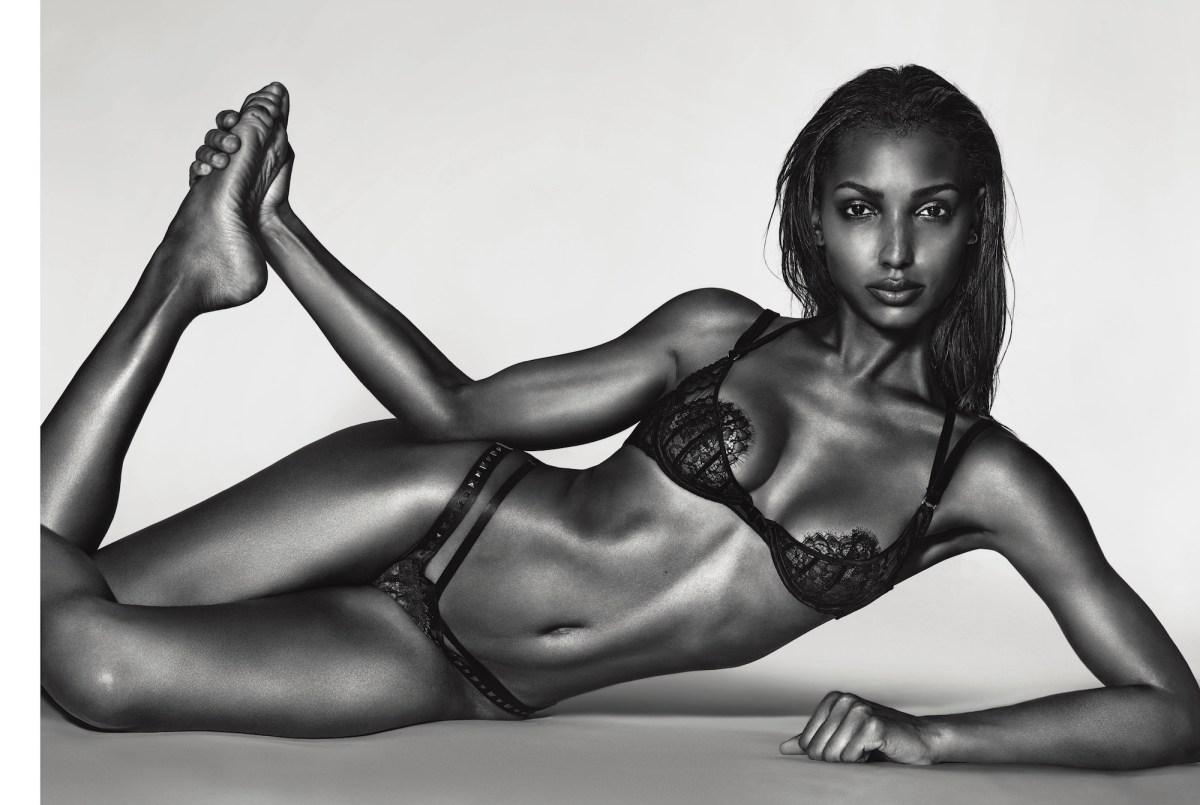 Jasmine Tookes by Richard Burbridge for 10 Magazine