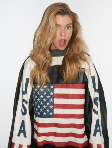 Stella Maxwell by Terry Richardson for Wonderland