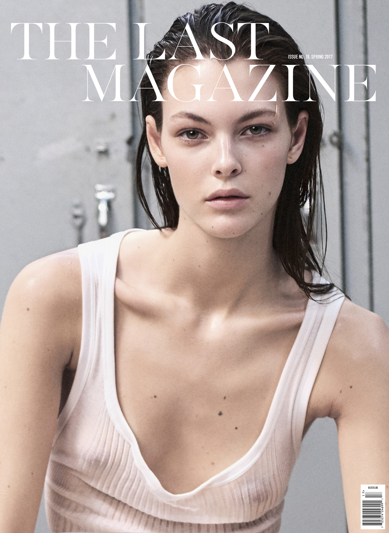 Vittoria Ceretti covers The Last Magazine