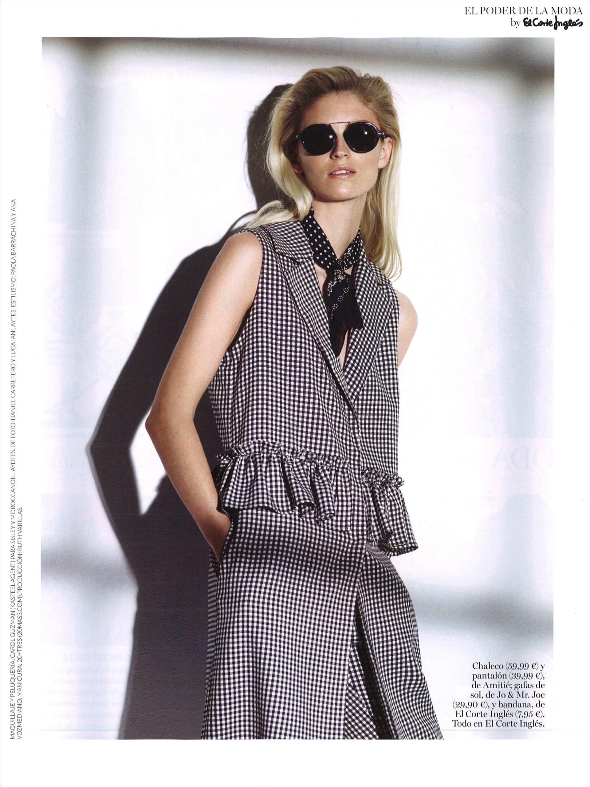 Helena Greyhorse by Cristina Lopez for Vogue Spain